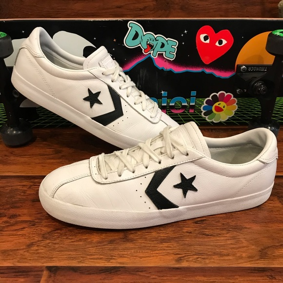 Converse Other - Converse Breakpoint Pro Ox White  Skate Shoes
